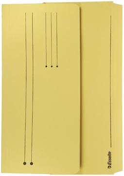 Esselte documentenmap Pocket File geel