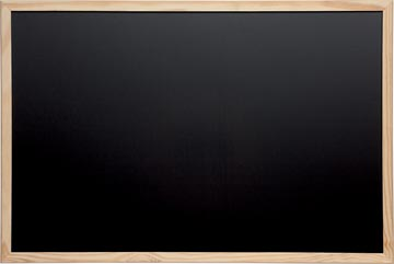 Maul krijtbord met houten frame, ft 40 x 60 cm