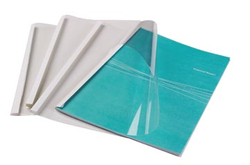 Fellowes thermische omslagen ft A4, 1,5 mm, pak van 100 stuks, glanzend