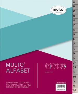Multo tabbladen uit kunststof, voor ft A5, 17- gaatsperforatie