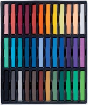 Talens Art Creation softpastels, doos van 36 stuks in geassorteerde kleuren
