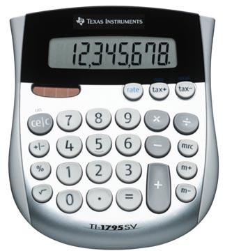 Texas bureaurekenmachine TI-1795 SV