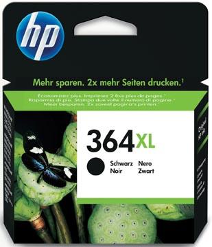 HP inktcartridge 364XL, 550 pagina's, OEM CN684EE, zwart