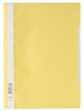 Durable snelhechtmap geel