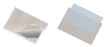 Durable Pocketfix doos van 100 stuks, binnenft 90 x 57 mm