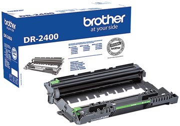 Brother drum, 12.000 pagina's, OEM DR-2400, zwart
