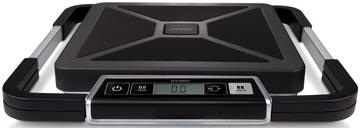 Dymo pakketweegschaal S100, weegt tot 100 kg, gewichtsinterval van 100 gram