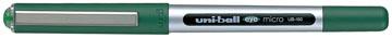 Uni-ball roller Eye Fine en Micro Micro, schrijfbreedte 0,3 mm, punt 0,5 mm, groen