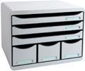 Exacompta ladenblok Storebox Maxi, lichtgrijs