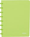 Atoma schrift Trendy ft A5, commercieel geruit, transparant groen