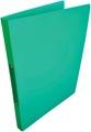 Alpha ringmap, voor ft A4, uit PP, 2 ringen van 16 mm, groen