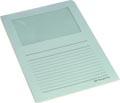 Pergamy L-map met venster, pak van 100 stuks, lichtblauw