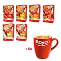 Action Royco 1: 6 x Royco Minute Soup + 6 tasses GRATUIT